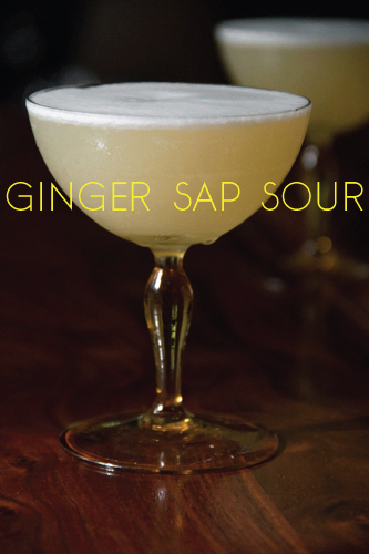 Ginger Sap Sour