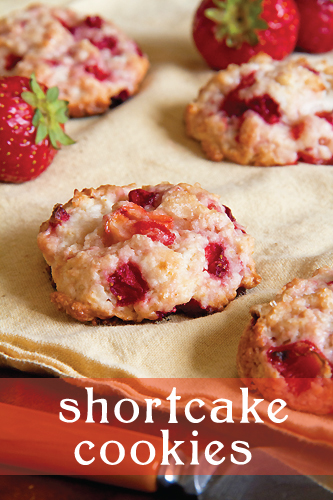 Strawberry Shortcake Cookies Transform a Classic Dessert - SippitySup