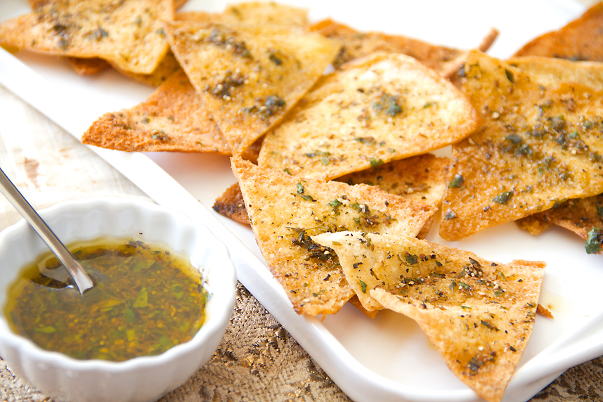 SippitySup Spicy Cumin Pita Chips Recipe - SippitySup