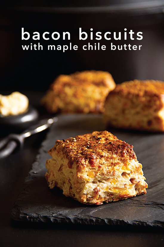 Bacon Cheddar Biscuits - SippitySup