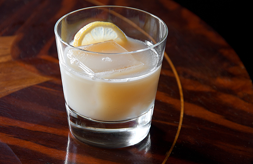 Eleven/Eleven A Scotch Cocktail with Cardamom and Apple