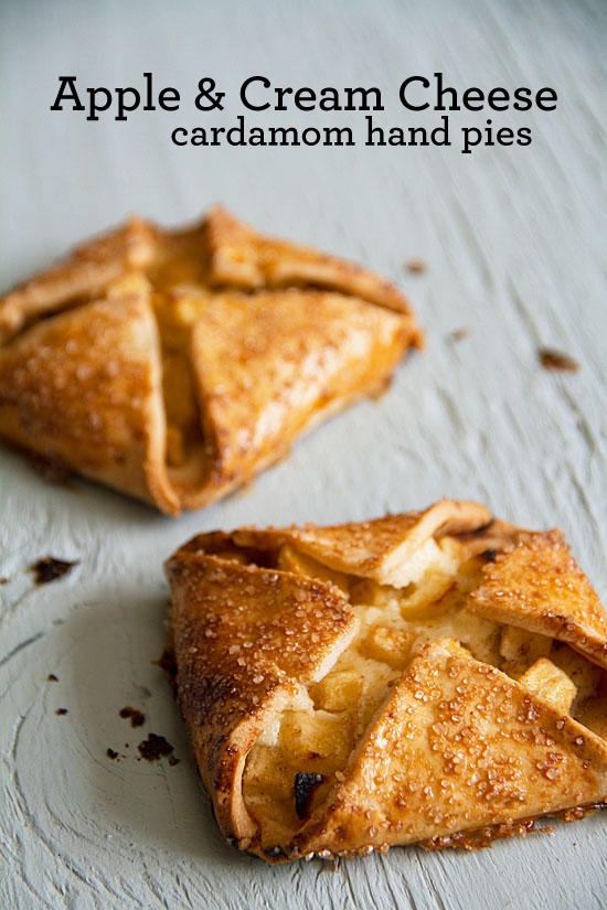 Apple and Cream Cheese Hand Pies