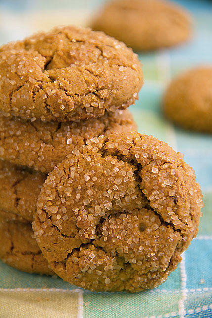 Caraway Cookies with Ginger and Molasses - SippitySup