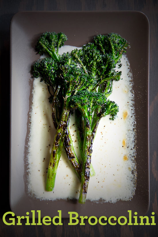 Love Broccolini. I've Always Loved Broccolini. - SippitySup