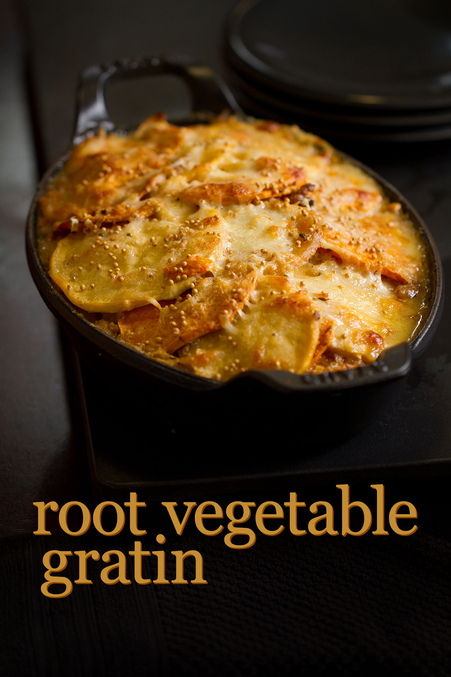 Root Vegetable Gratin For a Rainy Weekend - SippitySup