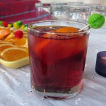 PomWonderful Pomegranate & Orange-Blossom Vodka Punch