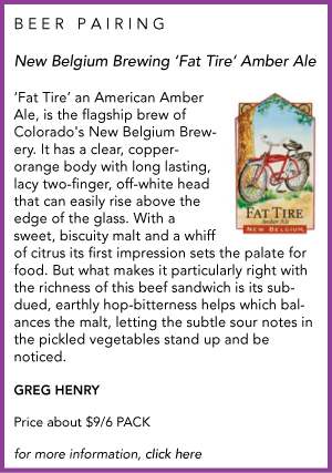BEER PAIRING Fat Tire