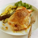 Roasted Chicken Breast with Prosciutto, Lemon &amp; Nutmeg