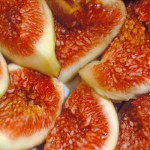 Figs prepped for jam