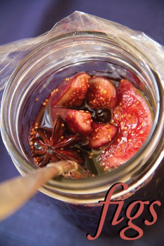 Really Ripe Figs in Spiced Red Wine Syrup - SippitySup