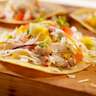 Pan fried catfish tacos with mango salsa sippitysup for Taco bell fish tacos