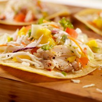 Pan-Fried Catfish Tacos with Mango Salsa
