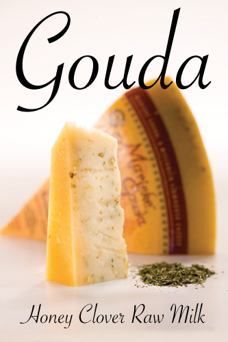 Marieke Holland&#039;s Family Cheese Honey Clover Raw Milk Gouda