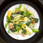 Kale &amp; Summer Squash Salad with Quinoa &amp; Lemon