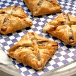 Mushroom, Goat Cheese &amp; Mint Hand Pies