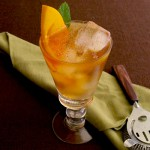 Persimmon Rum Punch