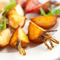 Salt Roasted Golden Beets with Anise Seeds