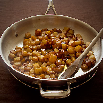 admit my passion for Rutabaga Homefries with Chilies Mint amp Maple