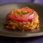 Onion-Topped Potato &amp; Rutabaga Cakes (Neeps and Tattie Cakes)