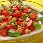 Swordfish and Tomato Salad