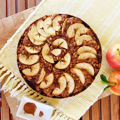 An Apple A Day- Applesauce Cake