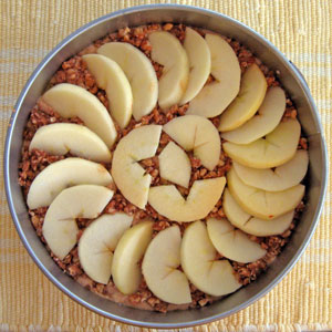 applesauce cake preparation