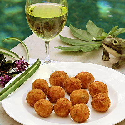 Arancini- Italian Street Food or Elegant Appetizer? You decide ...