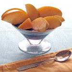 cold poached asian pears