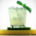 Sweet Basil Gimlet