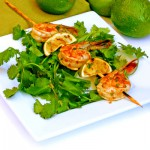BBQ Shrimp with Ginger and Lime