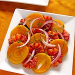 Golden Beets and Blood Orange Salad