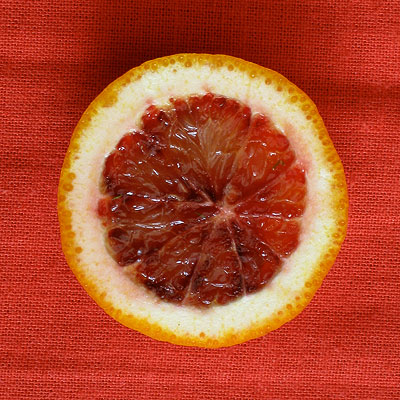 blood orange slice