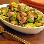 Brussels Sprouts and Chestnuts