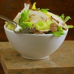 Italian Mushroom &amp; Celery Heart Salad