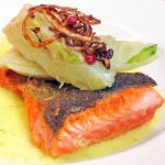 arctic char with braised fennel