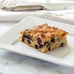 Goat Cheese &amp; Chocolate Chunk Blondies