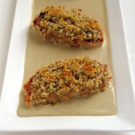 Panko Crusted Mustard Chicken Breasts