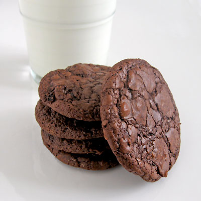 Chocolate Cherry Ganache Cookies