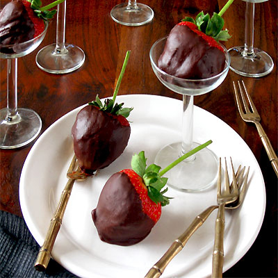 Chili Chocolate Dipped Strawberries