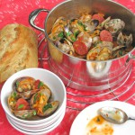 Spicy Clams with Abruzzese Sausage