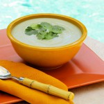 Tropical Taro, Coconut Milk Vichyssoise