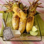 Grilled Corn with Feta and Lime