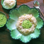 Risotto Bianco with Fava Puree