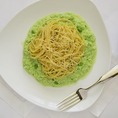 fava bean puree pasta