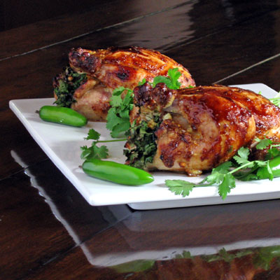 hoisin-roasted game hens