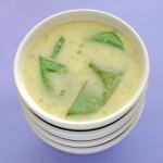 Green Garlic Soup with Sorrel