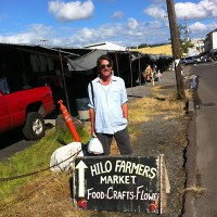 Sippity Sup at the Hilo Farmers Market
