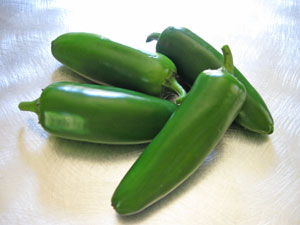 fresh jalapenos