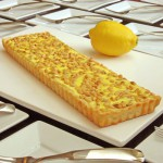 Lemon & Pine Nut Sheep's Milk Ricotta Tart