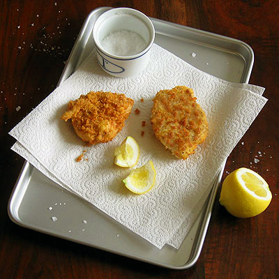 Matzo-Crusted Chicken Cutlets - SippitySup